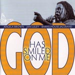CD-Cover: Angela Brown - Jan Luley - Barrelhouse Jazzband: God Has Smiled On Me